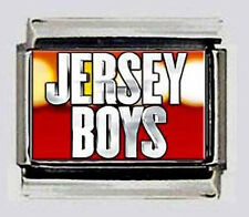 JERSEY BOYS THE Musical 9mm Italian Photo Charms for modular bracelets