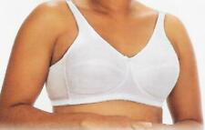 NEW 117 Softcup Mastectomy Bra White American Breast Care 32A 32B 36D 38D