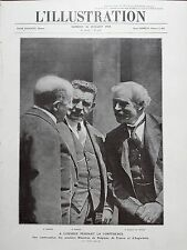 L' ILLUSTRATION 1924 N 4247 LA CONFERENCE DE LONDRES MM.THEUNIS, HERRIOT, RAMSEY