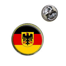 Lapel Hat Tie Pin Tack Flag of Germany with Crest