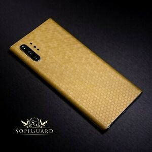 SopiGuard 3M Avery Carbon Fiber Skin Back and Sides for Samsung Galaxy Tab S7