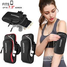 Sports Armband Gym Running Jogging Exercise Arm Band Key Phone Holder Bag Case