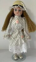 The Heritage Mint Ltd Collection Porcelain 1989 Doll With Stand