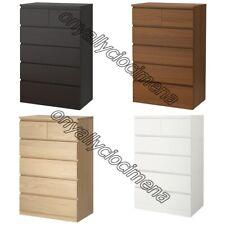 cassettiera 6 cassetti IKEA MALM 80X123 legno camera cameretta stanza da letto