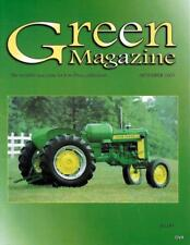 John Deere Green Magazine September 2005 Featured Model 40 & 2 Cylinder Tractors