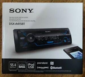 Sony DSXA415BT Digital Media Receiver  Bluetooth & Satellite Radio car stereo