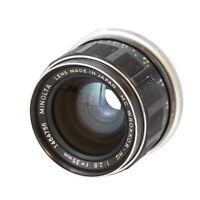Minolta 35mm F/2.8 W Rokkor HG MC Mount Manual Focus Lens {52} - AI