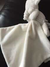 Marks & Spencer My Toy Shelf Elephant Comforter Baby Blanket Beige striped beige
