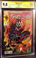 MARVEL Comic SPIDER-GWEN #25 CGC SS 9.8 GWENOM SPIDER-MAN 316 GHOST SPIDER VENOM