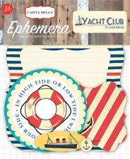 Yacht Club Ephemera - 33 Die Cut Pieces Carta Bella Nautical Sailing