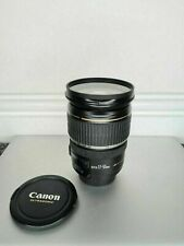 Canon EF-S 17-55mm F2.8 IS USM Zoom Lens w/ Front & Rear Caps HOYA UV Filter VGC