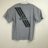 MEN/'S GREEN SHINY COLLARED SOCCER PRE-OWNED T-Shirt  ADULT LARGE