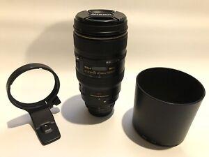 Nikon AF NIKKOR 80-400mm f/4.5-5.6D ED VR Lens (Used)