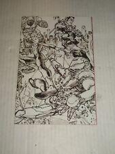 Marvel CIVIL WAR II #2 Kim Jung Gi Sketch Variant NM