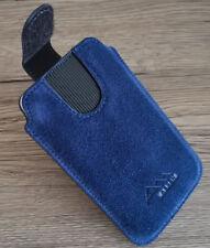 ASSEM echt leder Handy Gürtel Tasche Hülle Etui case cover HTC Desire 12