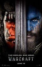 Warcraft Movie Poster (24x36) - Travis Fimmel, Robert Kazinsky, Ben Foster v1