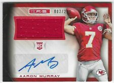 2014 Rookies and Stars Football - ROOKIE JERSEY AUTOGRAPHS - AARON MURRAY - RC