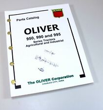 Oliver 950 990 995 Tractor Parts Assembly Manual Catalog Ag Amp Industrial Book