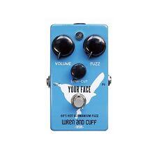 Wren and Cuff Your Face 60's Germanium Fuzz Guitar Effects Pedal True Bypass