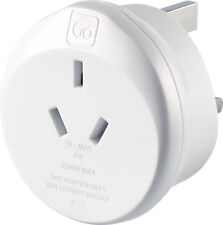 Go Travel Earthed AUS Australia - China to UK Travel Adaptor (Adapter Ref 560)
