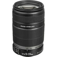 Canon EF-S 55-250mm f/4-5.6 IS II Lens! BRAND NEW IN Frustration Free Packaging!