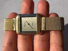 WATERMAN PARIS QUARTZ S/S & GOLD PLATED UNISEX SWISS MADE EXELLENT CONDITION