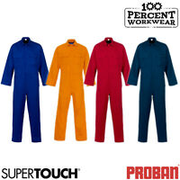 Supertouch Weld Tex Flame Retardant Basic Coverall Overall Boiler Suit Welding