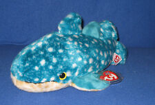 Retired TY POSEIDON the WHALE BEANIE BUDDY - MINT with MINT TAGS