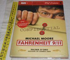 MOORE Michael - FAHRENHEIT 9/11 DVD - Feltrinelli - libri usati