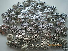 100 x mixtes Petit tibetan silver Sans Plomb PERLES, 50g