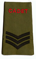 Official ACF / CCF Sergeant SGT RANK SLIDE for MTP ( Army Cadet Force CADETS