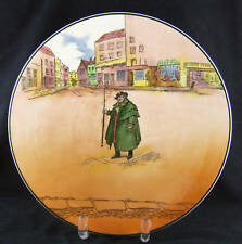 """Royal Doulton Seriesware Dickens Charger """"Tony Weller"""" Issued 1949-1952 Mint"""