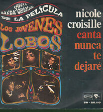 45T: BO du film los jovenes lobos. Nicole Croisille. sono play riviera