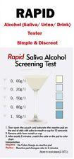 1x FAST RAPID ALCOHOL SALIVA URINE DRINK TEST TESTER ANALAYZER DETECTOR UK NEW