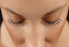 Fake False Individual flare eyelash extentions with diamante/diamonds 12mm