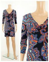 ex Phase Eight Paisley Print Jersey Tunic Dress RRP £79