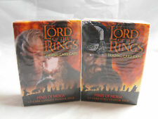 LORD OF THE RINGS TCG MINES OF MORIA SEALED GIMLI & GANDALF STARTER DECKS
