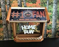 Nfl & Mlb Deluxe Two-Sided Cedar Bird Feeder (Other Teams Available)