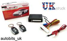 Universal Remote Central Locking Upgrade Kit For VW Vauxhall Suzuki 2 Fobs New
