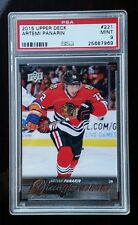 ARTEMI PANARIN YOUNG GUNS RC 2015-16 UD Series1 PSA 9 MINT ROOKIE of the YEAR!!!
