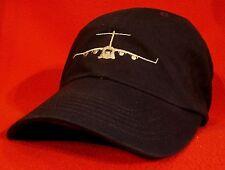 USAF C-17 Globemaster aircraft ball cap, low-profile Air Force BLUE aviator hat
