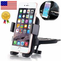 CD Slot Car Smart Phone Holder Mount for Mobile Cell Phone iPhone Samsung GPS US