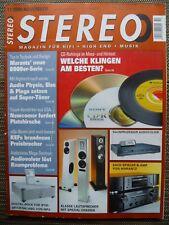 STEREO 11/08,TEAC X 2000R,PHYSIC TEMPO VI,PIEGA TC 3,KEF iQ 30,70,AYRE K /V 5 XE