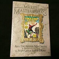 Marvel Masterworks #1 Amazing Spider-man Gold Variant HC Limited Printing 1st ED