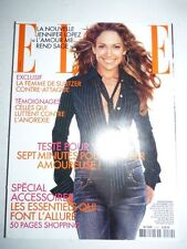 Magazine mode fashion ELLE French #2960 23 septembre 2002 Jennifer Lopez
