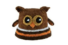San Diego Hat Company - Infant Knit Hat- Brown Owl - 6-12 Months