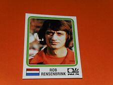 90 RENSENBRINK HOLLAND MÜNCHEN 74 FOOTBALL PANINI WORLD CUP STORY 1990 SONRIC'S