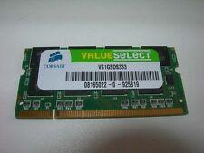 Barrette mémoire 1 GO CORSAIR SO-DIMM DDR PC2700