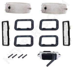 For BMW 318i 325 325i E21 E30 Genuine Door Handle Door Lock Knobs Handle Trims