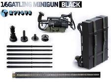 1/6 Scale Gun Model Minigun TERMINATOR Gatling 8018 M134 Heavy Machine Gun Model